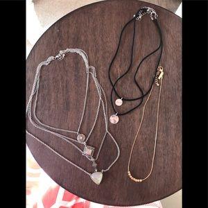 3 necklace Bundle
